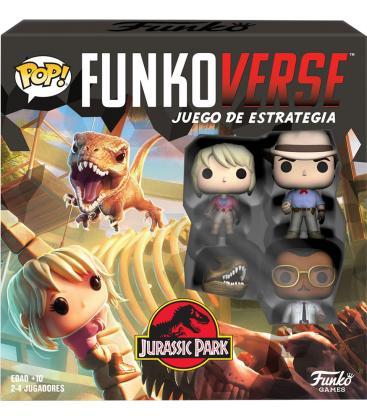 Funkoverse Jurassic Park: 4 Jugadores