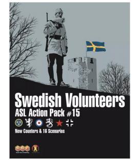 ASL Action Pack 15: Swedish Volunteers (Inglés)