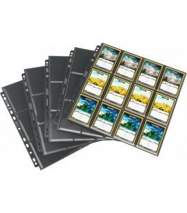 Gamegenic: 24-Pocket Side-Loading Pages Pack Black (10)