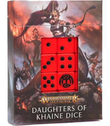 Warhammer Age of Sigmar: Daughters of Khaine (Dados)