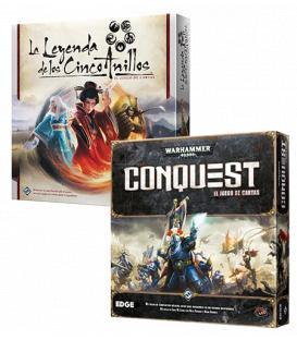 Pack W40 - Warhammer 40.000: Conquest + Leyenda de los Cinco Anillos LCG
