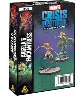 Marvel Crisis Protocol: Angela & Enchantress (Inglés)