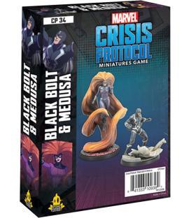 Marvel Crisis Protocol: Black Bolt & Medusa (Inglés)