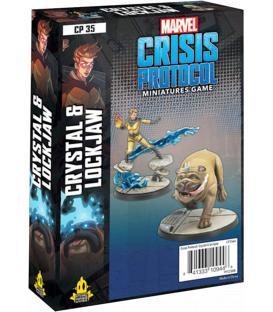 Marvel Crisis Protocol: Crystal & Lockjaw (Inglés)