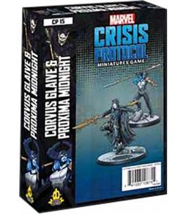 Marvel Crisis Protocol: Corvus Glaive & Proxima Midnight (Inglés)