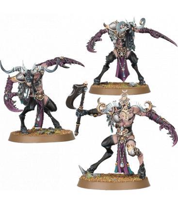 Warhammer Age of Sigmar: Hedonites of Slaanesh (Slaangor Fiendbloods)