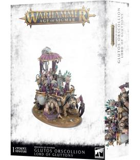 Warhammer Age of Sigmar: Hedonites of Slaanesh (Glutos Orscollion, Lord of Gluttony)