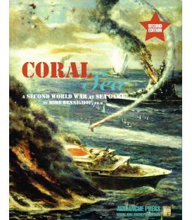 Second World War at Sea: Coral Sea (Inglés)