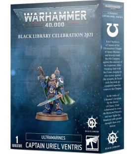 Warhammer 40.000: Black Library Celebration 2021 Ultramarines (Captain Uriel Ventris)