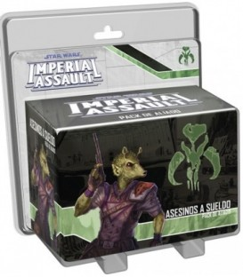Star Wars Imperial Assault: Asesinos a Sueldo