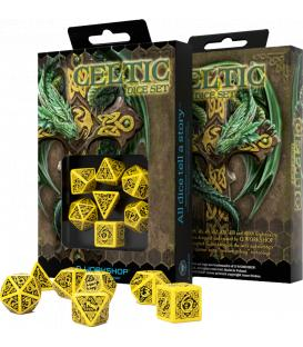 Q-Workshop: Celtic 3D Revised (Yellow & Black)