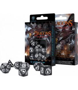 Q-Workshop: Dragons (Black & White)