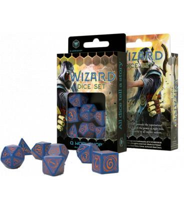 Q-Workshop: Wizard (Dark-Blue & Orange)