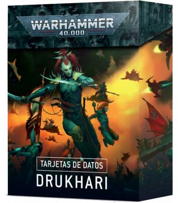 Warhammer 40,000: Drukhari (Tarjetas de Datos)