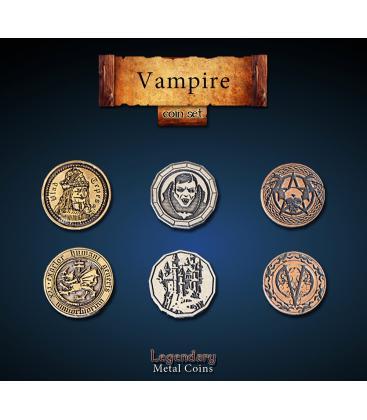 Legendary Metal Coins: Vampire (24)