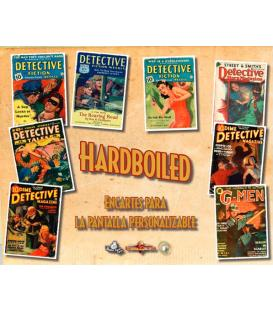 Hardboiled: Encartes para la Pantalla Personalizable