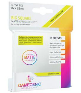 Gamegenic: Matte Big Square-Sized Sleeves 82x82mm (50)