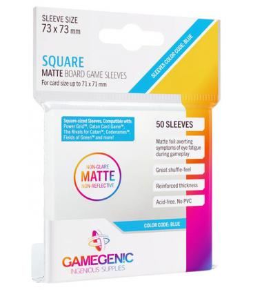 Gamegenic: Matte Square-Sized Sleeves 73x73mm (50)
