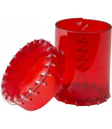 Q-Workshop Age of Plastic Dice Cup (Red)