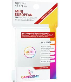 Gamegenic: Matte Mini European-Sized Sleeves 46x71mm (50)