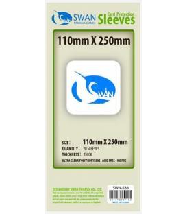 Fundas Thick Swan Panasia (110x250mm) (20)