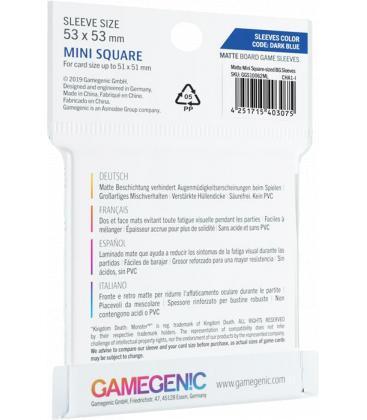 Gamegenic: Matte Mini Square Sleeves 53x53mm (50)