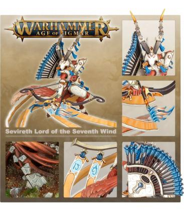 Warhammer Age of Sigmar: Lumineth Realm-Lords (Sevireth, Lord of the Seventh Wind)