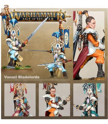 Warhammer Age of Sigmar: Lumineth Realm-Lords (Vanari Bladelords)