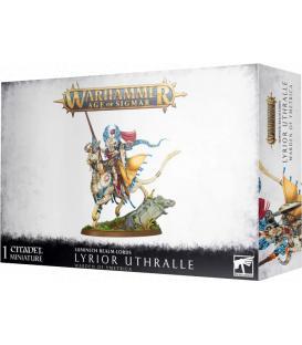 Warhammer Age of Sigmar: Lumineth Realm-Lords (Lyrior Uthralle, Warden of Ymetrica)
