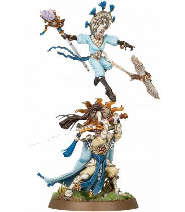 Warhammer Age of Sigmar: Lumineth Realm-Lords (Ellania y Ellathor, Eclipsian Warsages)