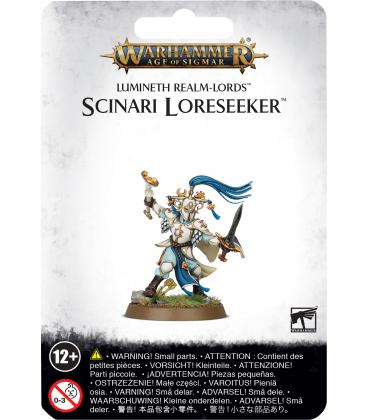 Warhammer Age of Sigmar: Lumineth Realm-Lords (Scinari Loreseeker)