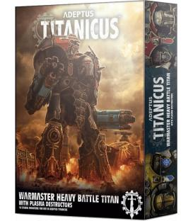 Adeptus Titanicus: Warmaster Heavy Battle Titan with Plasma Destructors