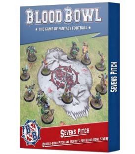 Blood Bowl: Sevens Pitch (Double-sided Pitch and Dugouts) (Inglés)