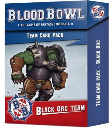 Blood Bowl: Black Ork Team (Card Pack)