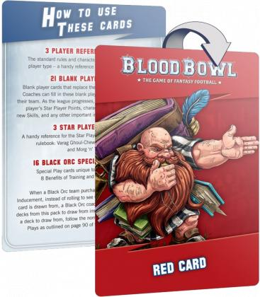 Blood Bowl: Imperial Nobility Team (Card Pack)