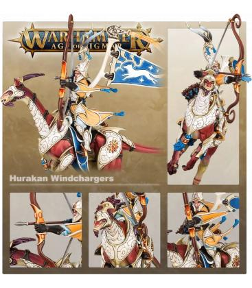 Warhammer Age of Sigmar: Lumineth Realm-Lords (Hurakan Windchargers)