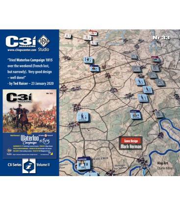 C3i Magazine 33: Waterloo Campaign 1815