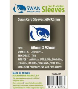 Fundas Thin Swan Panasia (60x92mm) (200)