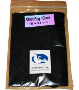 Bolsa Swan Panasia - Negro (18x24cm)