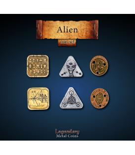 Legendary Metal Coins: Alien (24)