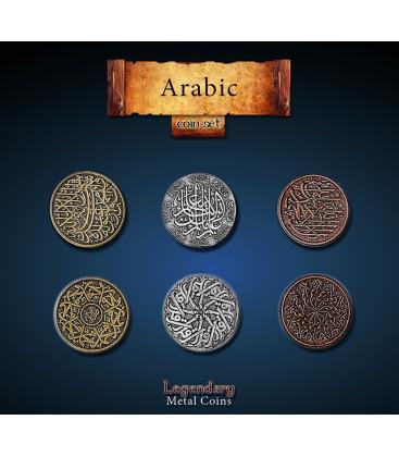 Legendary Metal Coins: Arabic (24)