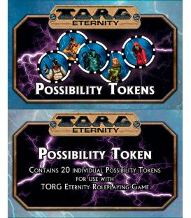 Torg Eternity: Fichas de Posibilidad