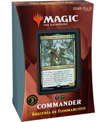 Magic the Gathering: Strixhaven - Mazo Commander (Brujería de Flosmarcitus)
