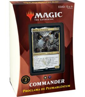 Magic the Gathering: Strixhaven - Mazo Commander (Proclama de Plumargéntum)