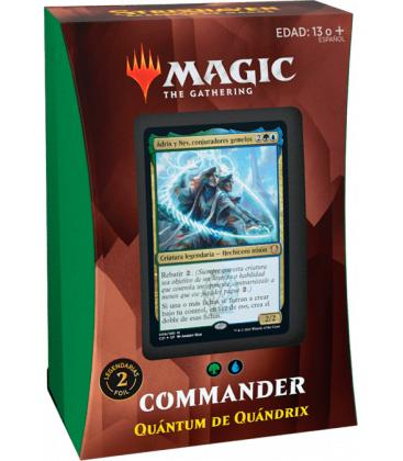 Magic the Gathering: Strixhaven - Mazo Commander (Quántum de Quándrix)