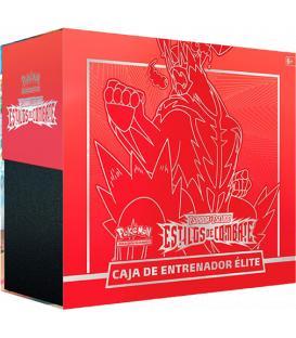 Pokemon: Espada y Escudo - Estilos de Combate (Caja de Entrenador Élite Rojo)