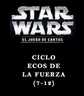 Star Wars LCG: Pack Ciclo Ecos de la Fuerza (6 Capítulos)