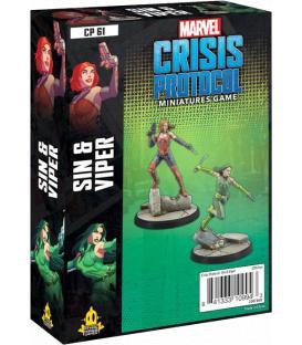 Marvel Crisis Protocol: Sin & Viper (Inglés)