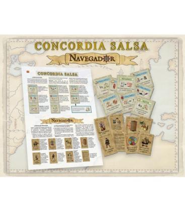 Navegador + Concordia Salsa: Expansión
