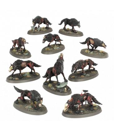 Warhammer Age of Sigmar: Soulblight Gravelords (Dire Wolves)